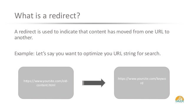 How (& Why) To Redirect a URL