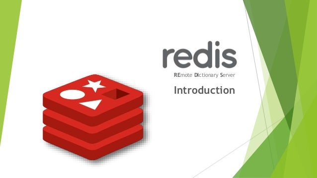 REmote DIctionary Server Introduction