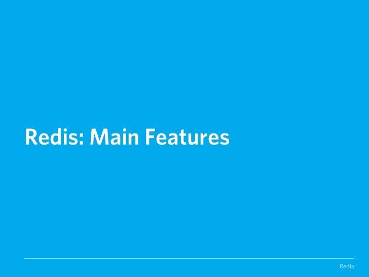 SIMPLICITYInstallationgit clone http://github.com/antirez/rediscd redismake./src/redis-‐server./src/redis-‐cli       ...