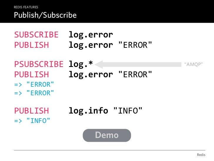 REDIS RESOURCESThe Interactive Documentation                           PROMPThttp://redis.io/commands            Redis