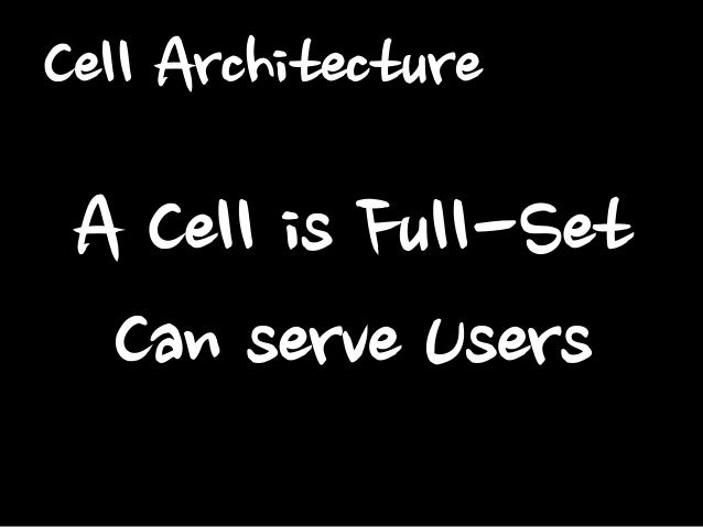 Cell Examples #1 WEB/AS  WEB/AS  Master  Slave  WEB/AS