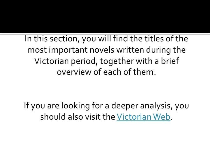 Rediscovering Victorian Literature Slide 2