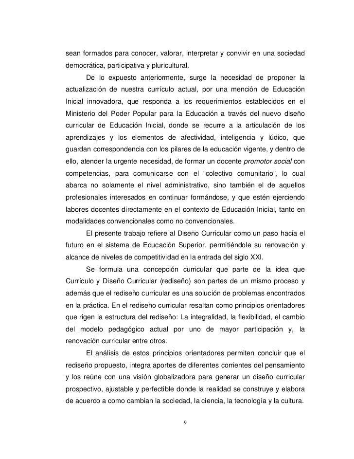 Redise o educaci n preescolar 2008 for Nuevo curriculo de educacion inicial