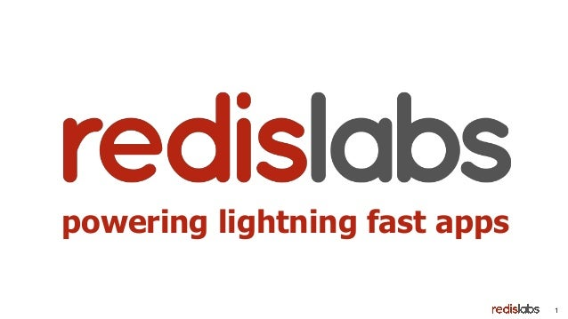 1 powering lightning fast apps