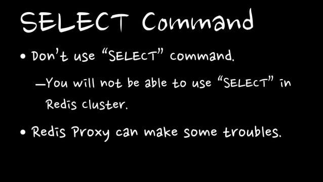 Response Time• Why memcache's response time isuniformed?–Difference of Memory AllocatorMemcache Redis- Slab Allocator - Ju...
