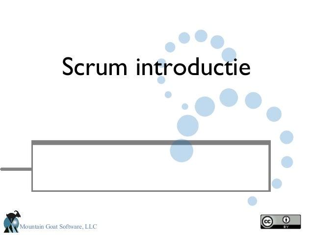 Mountain Goat Software, LLC Scrum introductie