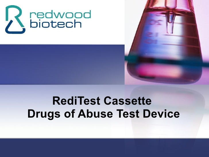 RediTest Cassette  Drugs of Abuse Test Device