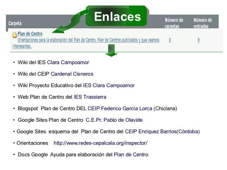 Enlaces●   Wiki del IES Clara Campoamor●   Wiki del CEIP Cardenal Cisneros●   Wiki Proyecto Educativo del IES Clara Campoa...