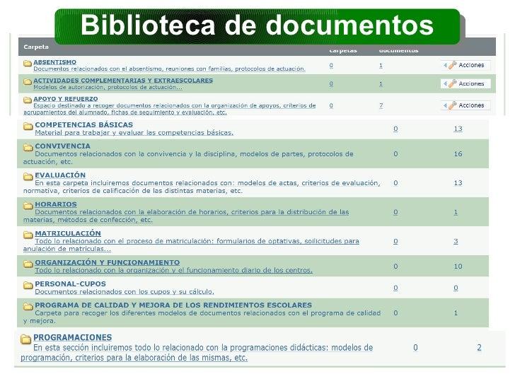 Biblioteca de documentos