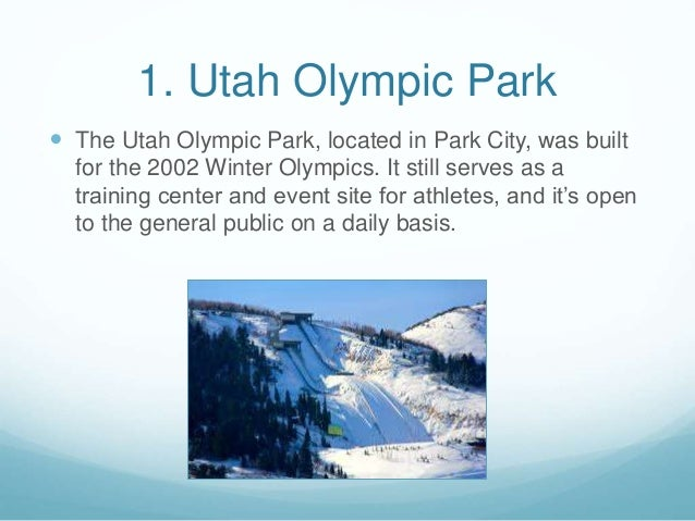 8 must see attractions in park city utah 2 1 utah olympic park sciox Gallery