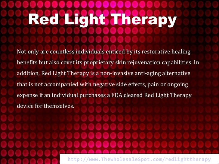 Red Light Therapy Redefining Anti Aging Technology