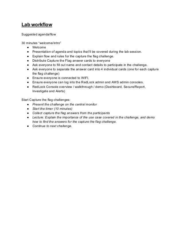 Become a Cloud Security Ninja - RedLock Lab Slide 2