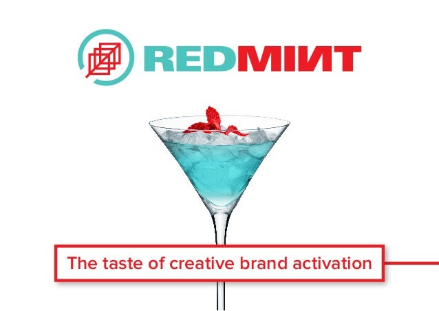 The taste of creative brand activation