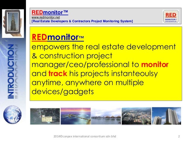 REDmonitor> Product features,Benefits,USP Slide 2
