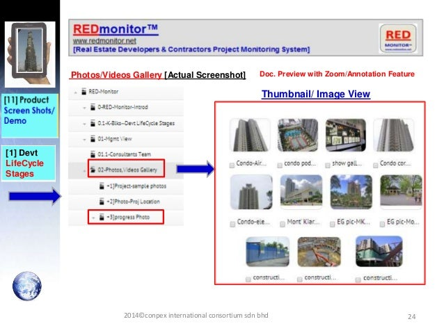 24 [1] Devt LifeCycle Stages Photos/Videos Gallery [Actual Screenshot] 2014©conpex international consortium sdn bhd Doc. P...