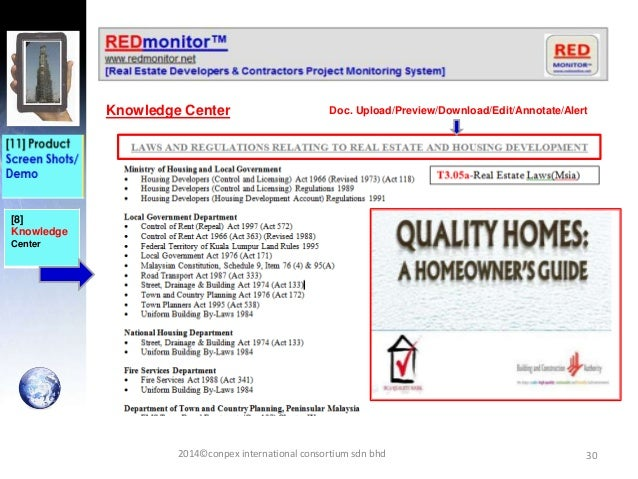 30 [8] Knowledge Center Knowledge Center Doc. Upload/Preview/Download/Edit/Annotate/Alert 2014©conpex international consor...