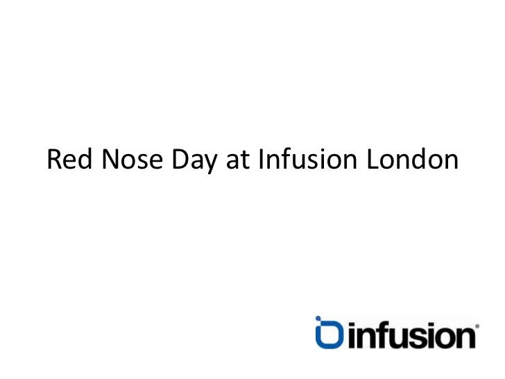 Red Nose Day at Infusion London<br />