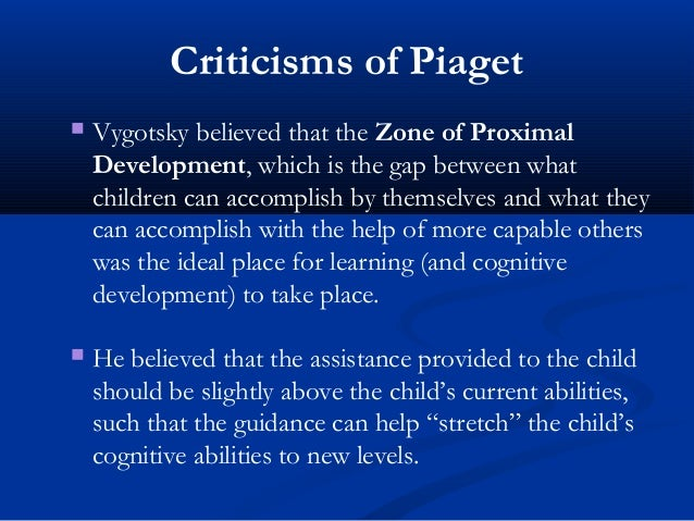 piaget underestimated childrens cognitive abilities in his theory Did piaget underestimate what children understand about  to show that piaget underestimated some of the cognitive  his theory of cognitive.