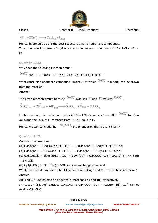 Worksheet Oxidation numbers Chemistry a Study of matter answers