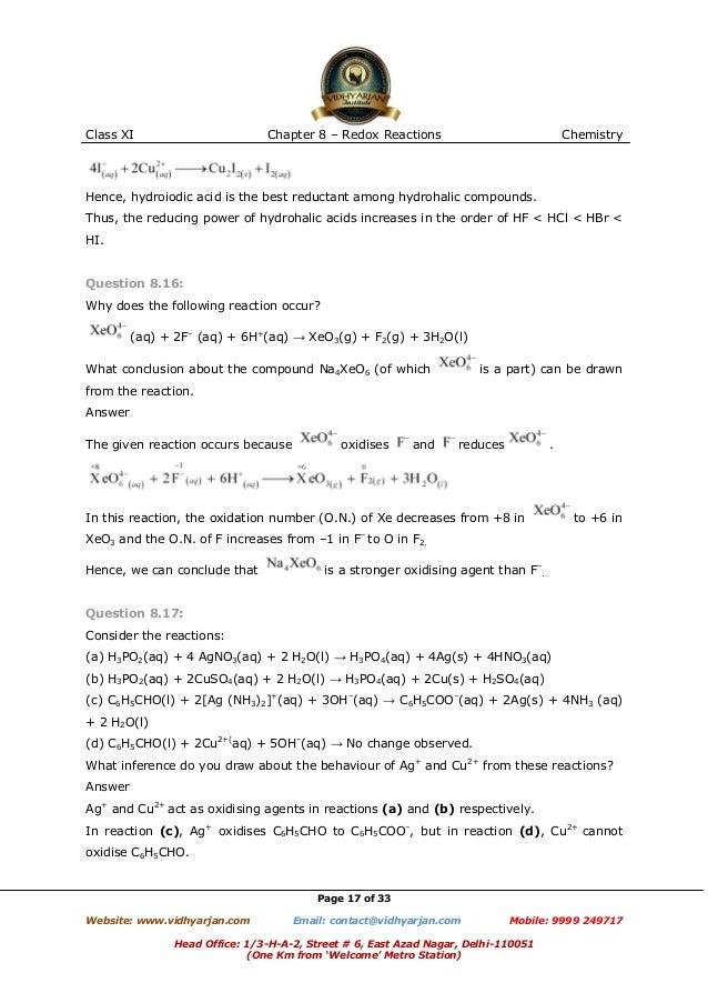 Oxidation Reduction Reactions Worksheet Pixelpaperskin – Redox Reactions Worksheet