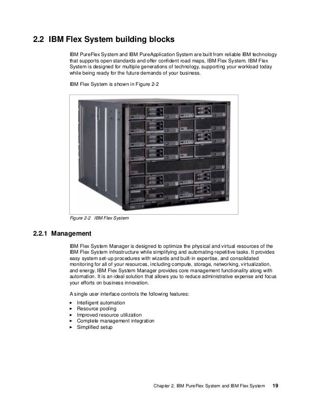 20 IBM PureFlex System Solutions for Managed Service Providers 2.2.2 Compute nodes The compute nodes are designed to take ...