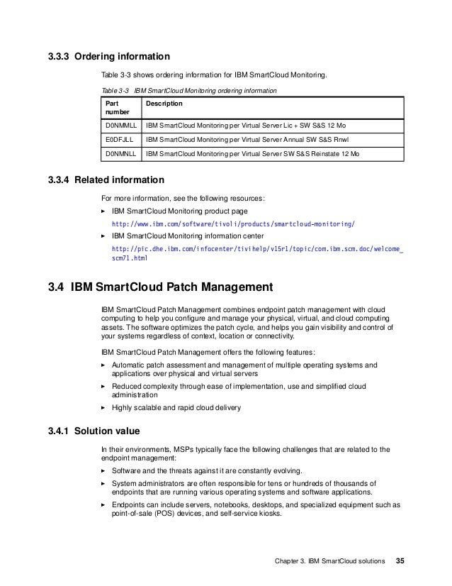 36 IBM PureFlex System Solutions for Managed Service Providers These challenges dictate specific requirements for MSP envi...