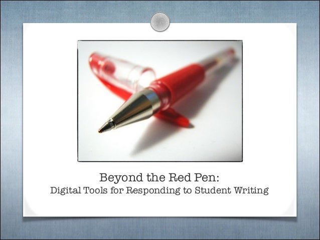 Beyond the Red Pen: 