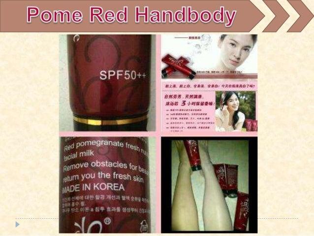 Red Pome Handbody Pemutih Terbaik Hand Body Yang Bagus