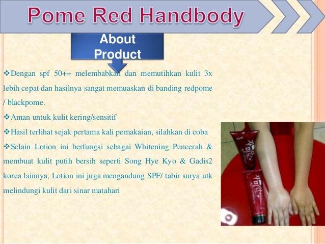 Red Pome Hand Body Pemutih Yang Bagus Handbody Pemutih