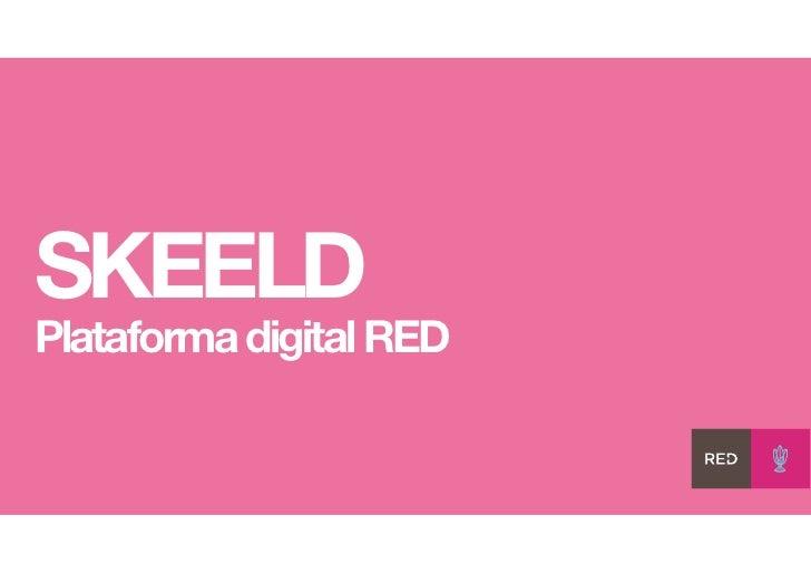 SKEELDPlataforma digital RED