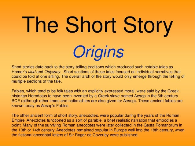 understanding a short story The hero of the story – understanding antagonists  the antagonist is the  character whose story goal is the opposite of  12 short stories.