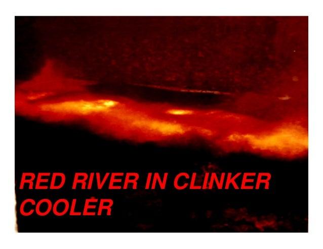 RED RIVER IN CLINKER COOLER