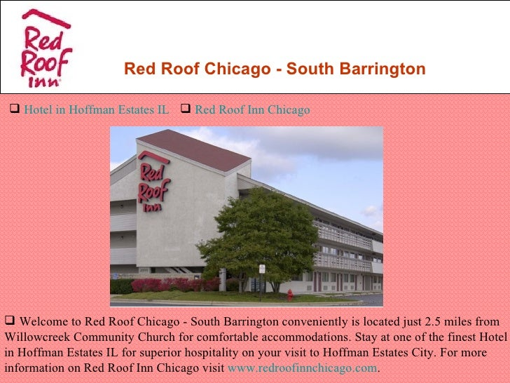 Red Roof Chicago   South Barrington Hotel In Hoffman Estates IL  Red Roof  Inn ...