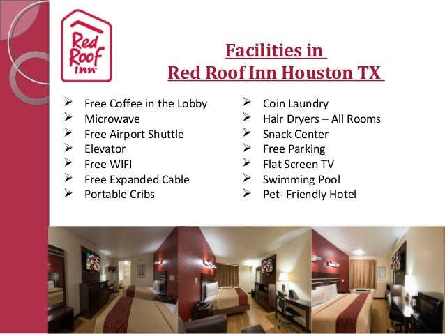 Welcome To Red Roof Inn Houston TX; 2.