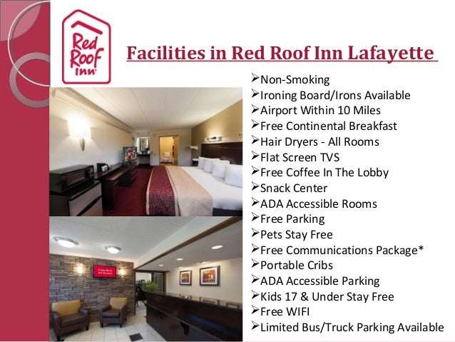Welcome To Red Roof Inn Lafayette; 2.