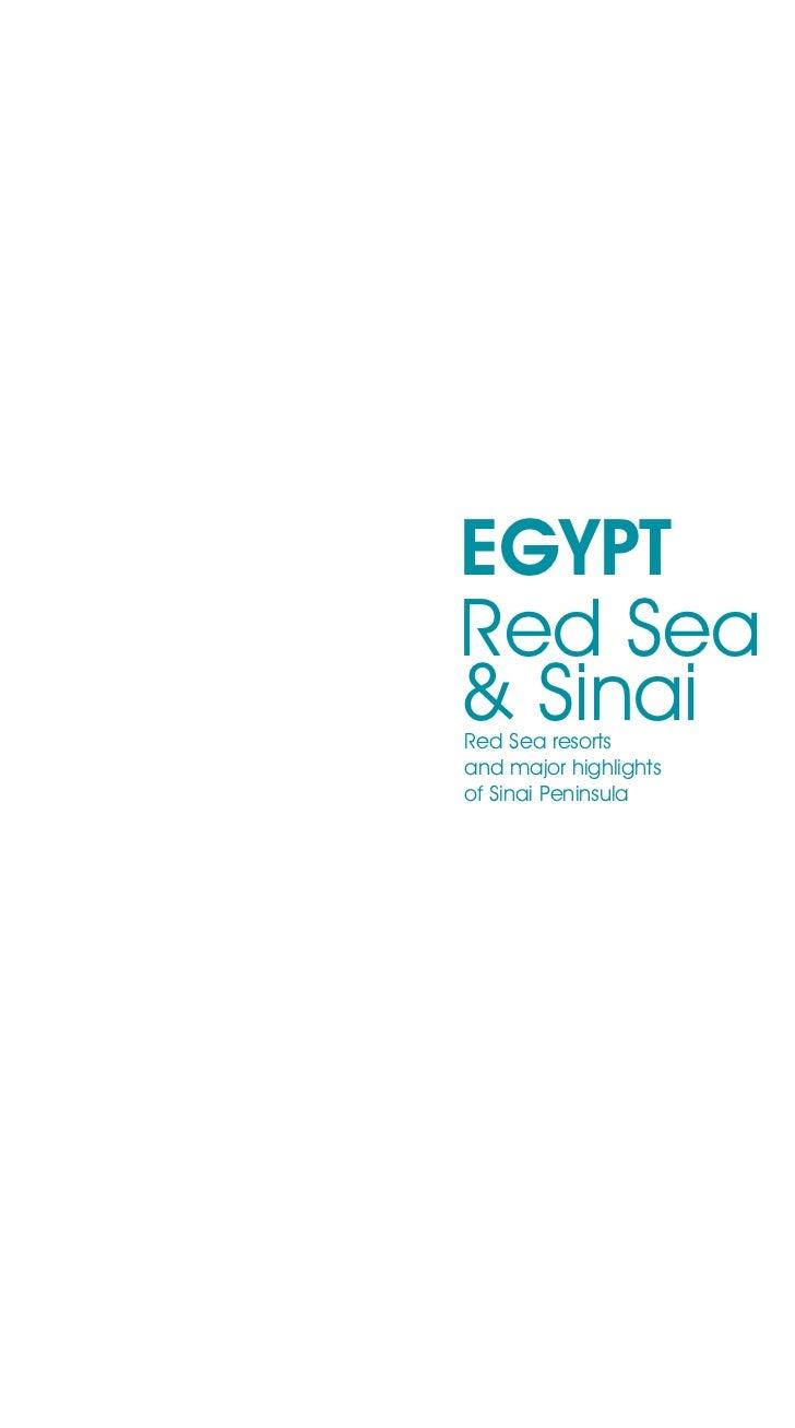EGYPTRed Sea& SinaiRed Sea resortsand major highlightsof Sinai Peninsula