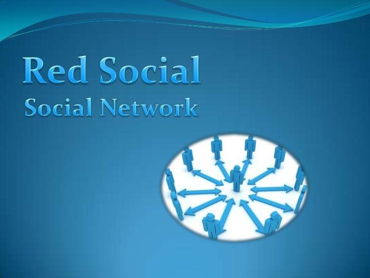 Red Social<br />Social Network<br />