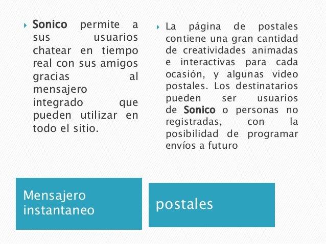 Referencias↑ Sitio oficial de SONICO