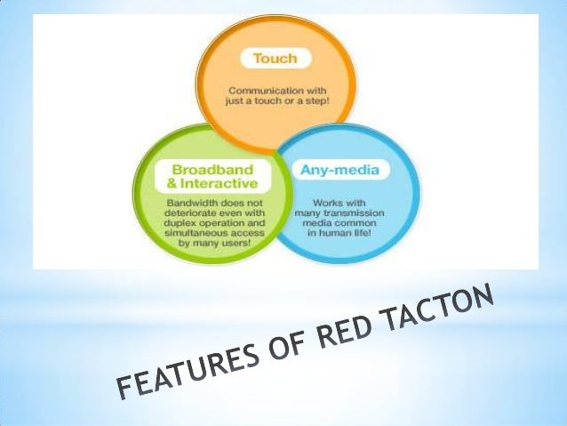 red tacton working Red tacton - a human area networking technology gamini gopi#1, r ravi kumar #2 #1final year b tech, dept of ece, kl university, vaddeswaram, ap, india,  red tacton technology is an electronic future where  iiworking: redtacton takes a different technical approach.