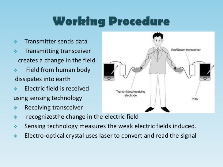 human area network Abstract: we have developed a human-area networking technology that uses the  surface of the human body as a data transmission path and an ac electric-field.