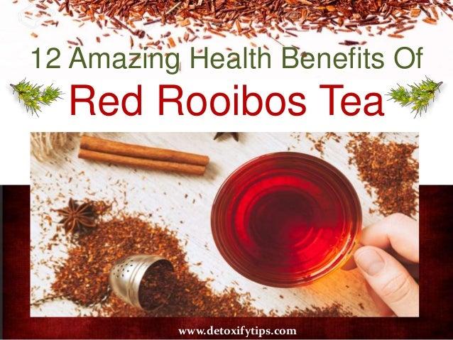 12 Amazing Health Benefits Of Red Rooibos Tea www.detoxifytips.com