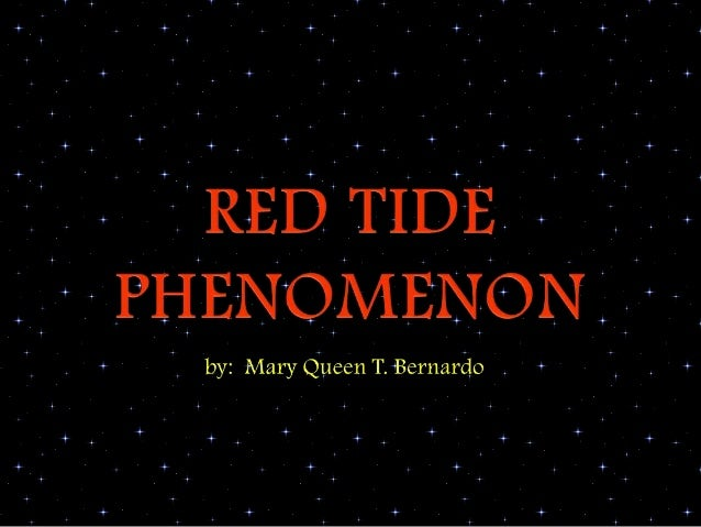     What are Red Tides?