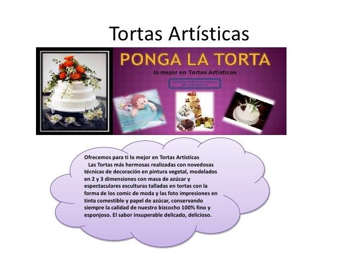 Tortas Artísticas<br />Ofrecemos para ti lo mejor enTortas Artísticas<br /> Las Tortas más hermosas realizadas con nove...