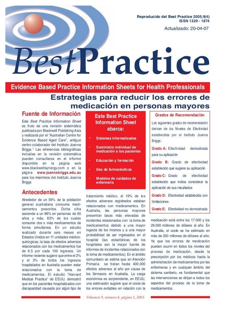 BestPractice                                                                                 Reproducido del Best Practice...