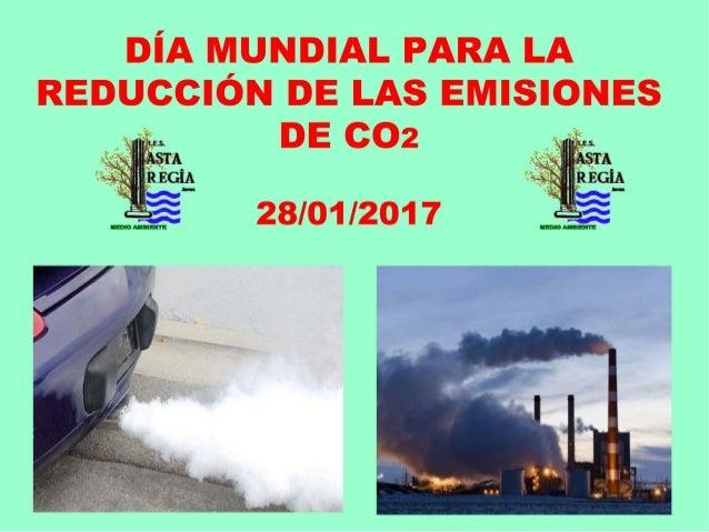 Reducción emisiones de co2