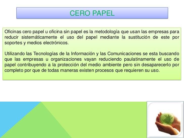Reducci n o eliminaci n del uso del papel for Oficina de medio ambiente