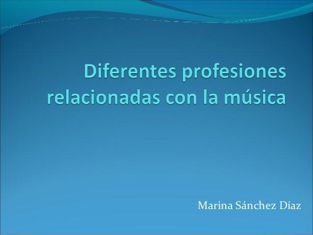 Marina Sánchez Díaz