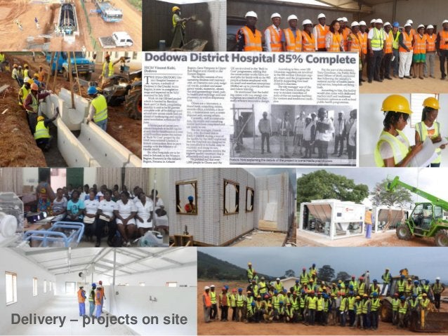 AfH Design Awards Winner 2015 Best International Project - Ghana District Hospitals for the Ministry of Health by TP Bennett