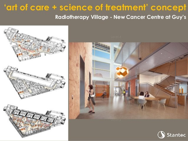 Images of garden by Rogers Stirk Harbour + Partners 'art of care + science of treatment' concept Healing gardens in the ai...