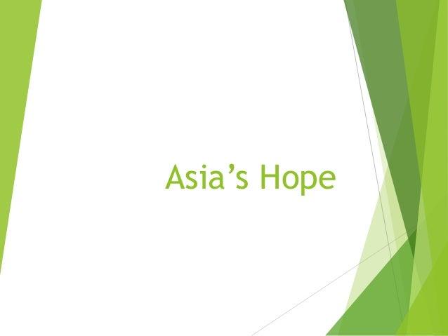 Asia's Hope